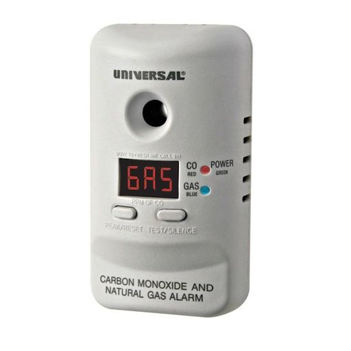 View a Larger Image of Carbon Monoxide and Natural Gas Alarm, Model MCND401B