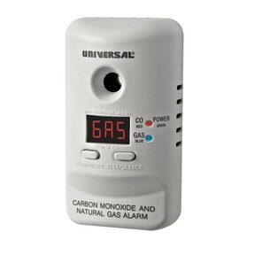 Carbon Monoxide and Natural Gas Alarm, Model MCND401B