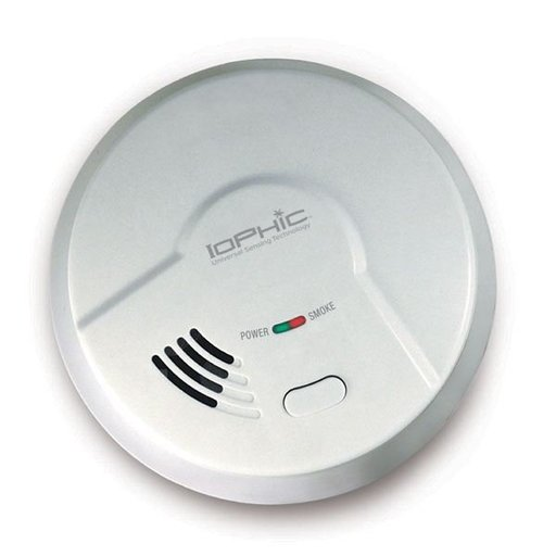 View a Larger Image of IoPhic Smoke and Fire Alarm, 120V, Model MDS107