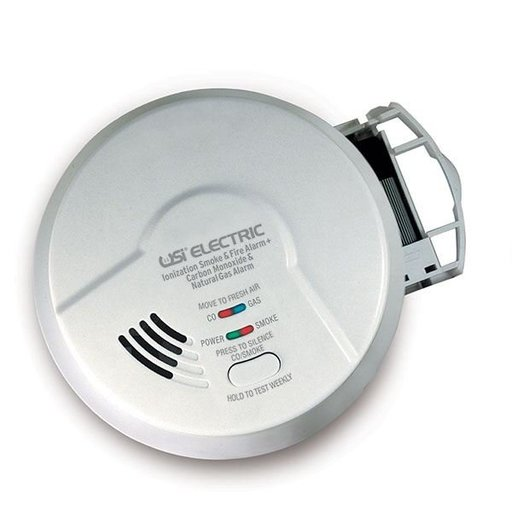 View a Larger Image of Smoke, Fire, Carbon Monoxide and Natural Gas Alarm, Model MICN109