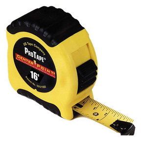 Centerpoint Tape Measure, 16' Model