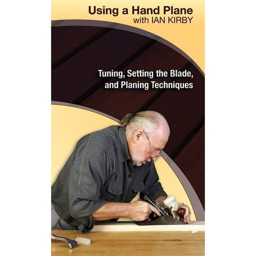 View a Larger Image of Using a Hand Plane with Ian Kirby: Tuning, Setting the Blade and Planing Techniques