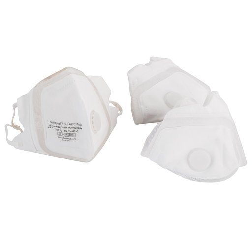 View a Larger Image of V-Fold Mask with Valve, X-Large, 3-pack