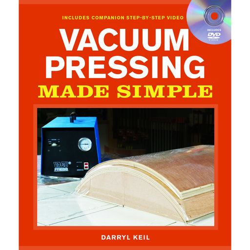 View a Larger Image of Vacuum Pressing Made Simple, Book with DVD