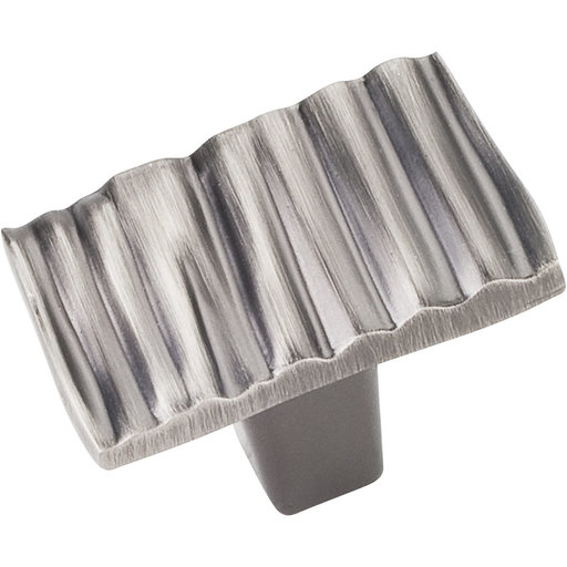 "View a Larger Image of Valencia Knob, 1-3/16"" O.L., Brushed Pewter"