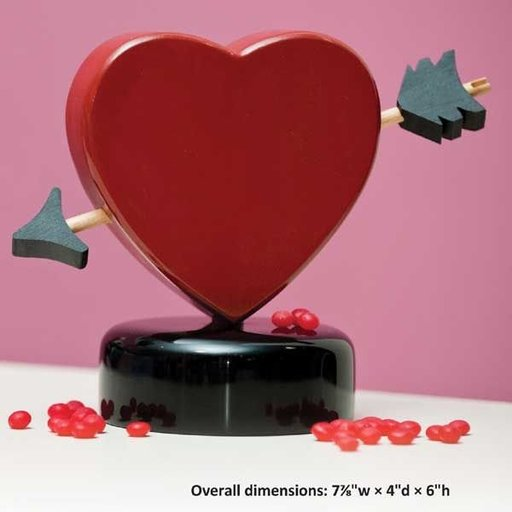 View a Larger Image of Valentines Candy Dispenser - Downloadable Plan
