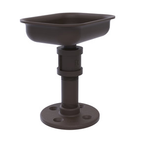 Vanity Top Soap Dish, Oil Rubbed Bronze Finish