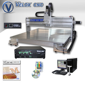 "Velox 36"" x 36"" X 8"" 3D Cutting & Carving CNC Machine"
