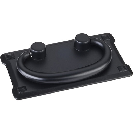 "View a Larger Image of Verona Pull, 3"" C/C, Matt Black/Black"