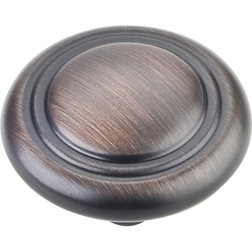 "View a Larger Image of Vienna Knob, 1-1/4"" Dia.,  Brushed Oil Rubbed Bronze"