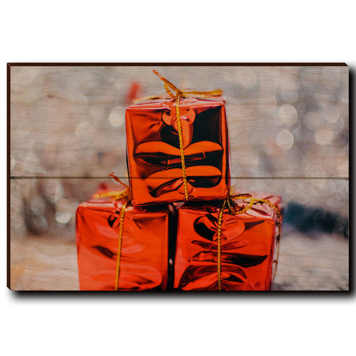 """View a Larger Image of Wall Art Holiday Surprise 12"""" x 8"""""""