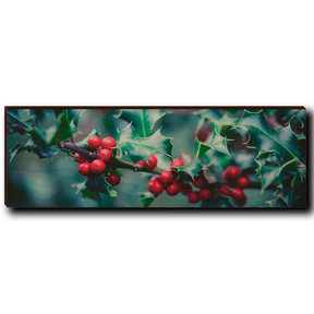"Wall Art Holly Time 12"" x 4"""