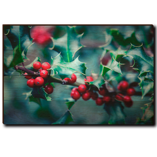 "View a Larger Image of Wall Art Holly Time 36"" x 24"""