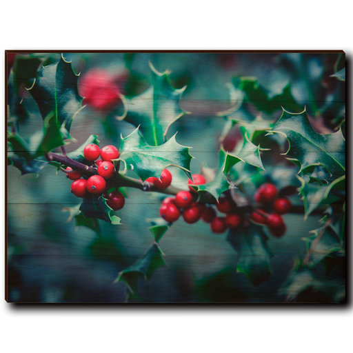 "View a Larger Image of Wall Art Holly Time 40"" x 30"""