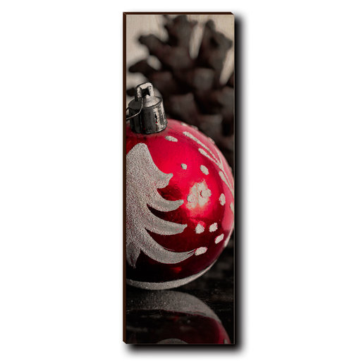 """View a Larger Image of Wall Art Lost Ornament 4"""" x 12"""""""