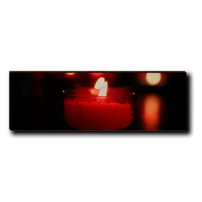 "Wall Art Noel Candle 12"" x 4"""