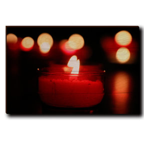 "Wall Art Noel Candle 24"" x 16"""