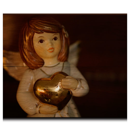 """View a Larger Image of Wall Art Peace On Earth Angel  36"""" x 24"""""""