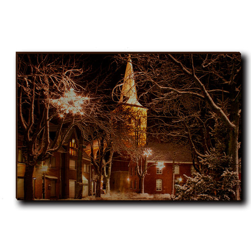 "View a Larger Image of Wall Art Winter's Square 24"" x 16"""