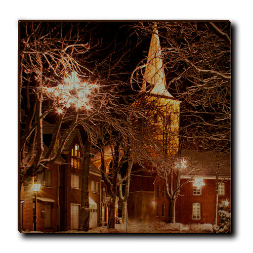 """View a Larger Image of Wall Art Winter's Square 24"""" x 24"""""""