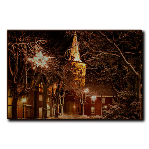 """View a Larger Image of Wall Art Winter's Square 36"""" x 24"""""""