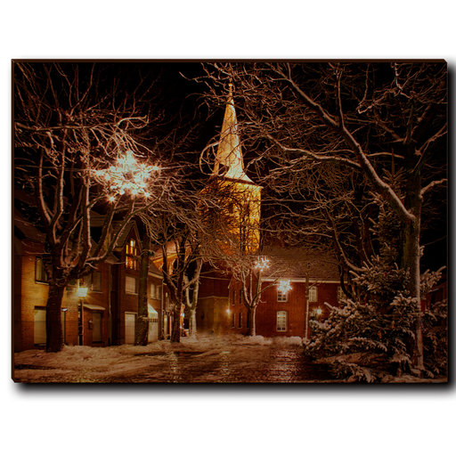 """View a Larger Image of Wall Art Winter's Square 40"""" x 30"""""""