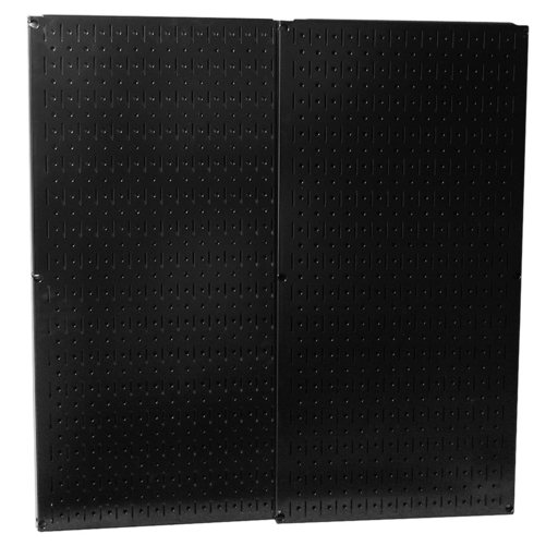 View a Larger Image of Wall Control Black Metal Pegboard Pack - Two Pegboard Tool Boards