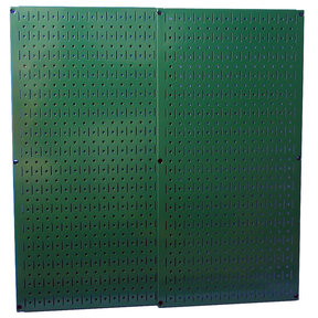 Green Metal Pegboard Pack - Two Pegboard Tool Boards