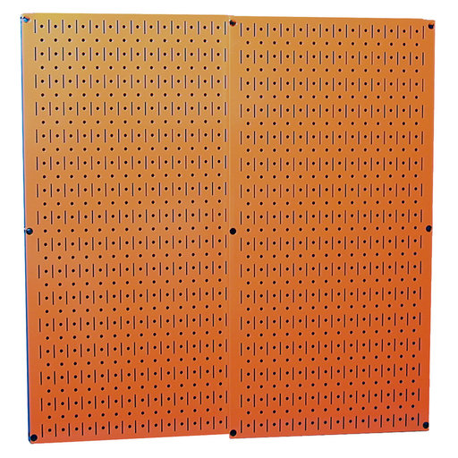 View a Larger Image of Wall Control Orange Metal Pegboard Pack - Two Pegboard Tool Boards