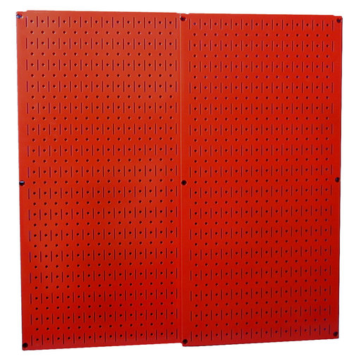 View a Larger Image of Wall Control Red Metal Pegboard Pack - Two Pegboard Tool Boards