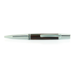 Wall Street II Elegant Ballpoint Pen Kit - Chrome with Satin