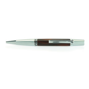 Wall Street II Ballpoint Pen Kit - Satin with Chrome