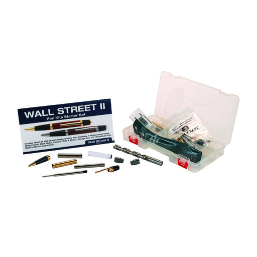 View a Larger Image of Wall Street II Starter Pen Kit Set