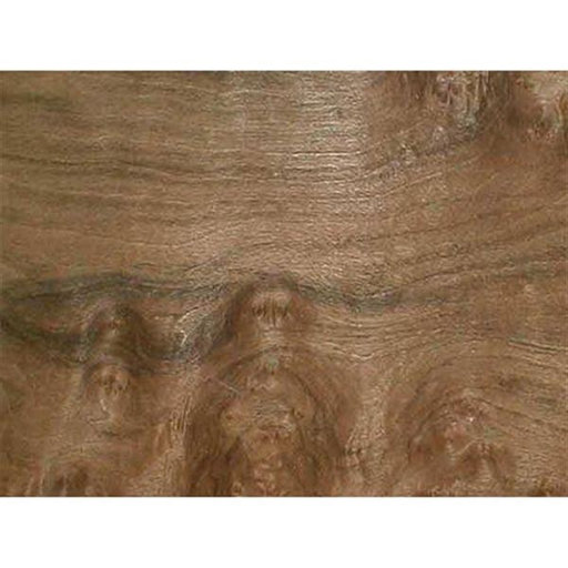 "View a Larger Image of Walnut Burl 4-1/2"" to 6-1/2"" Width 3 sq ft Pack Wood Veneer"