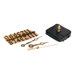 "3 Piece Clock Kit,  For 1/4""Surface"