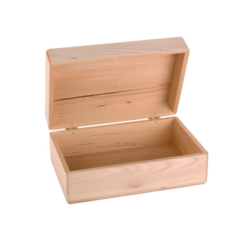 View a Larger Image of Walnut Hollow Basswood Box 3.33in x 8.21in x 5.44in