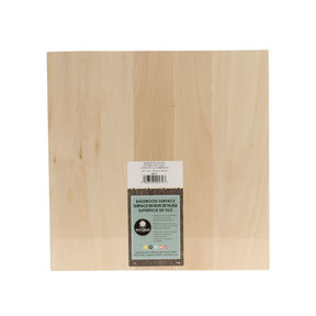 Basswood Canvas, 12 in. x 12 in.