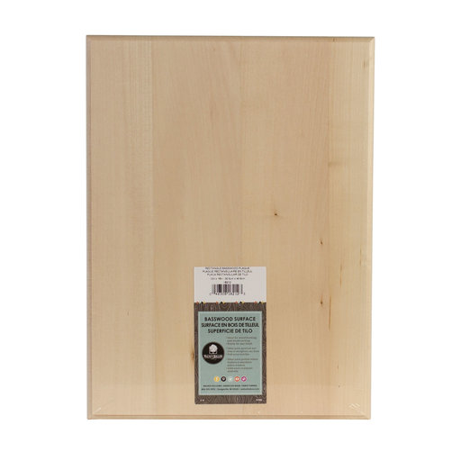 View a Larger Image of Basswood Plaque, Rectangle, 12 in. x 16 in.