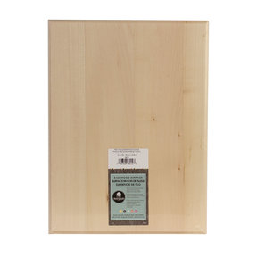 Basswood Plaque, Rectangle, 12 in. x 16 in.