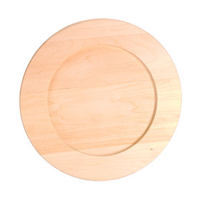 Walnut Hollow Basswood Round Plate 9-1/2""
