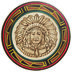 View a Different Image of Walnut Hollow Basswood Round Plate 9-1/2""