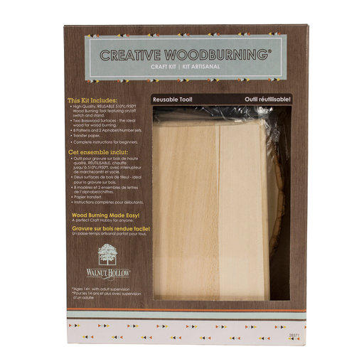 View a Larger Image of Creative Woodburning Kit I