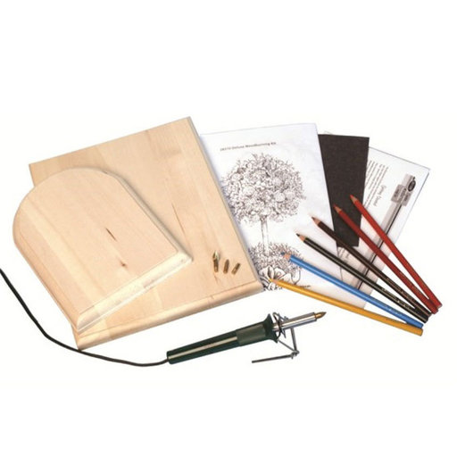 View a Larger Image of Deluxe Woodburning Kit