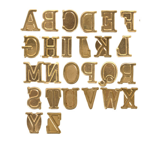 View a Larger Image of HotStamps Alphabet Set, Uppercase