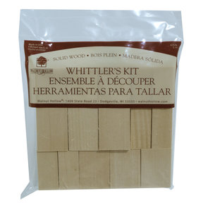 Whittler's Kit, Basswood, 10 Pieces