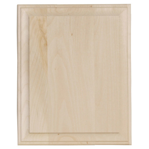 View a Larger Image of Wide Edge Basswood Plaque, Wide Edge, Rectangle, 11 in. x 14 in.