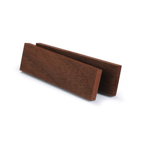 "Walnut, Peruvian 3/8"" x 1-1/2"" x 5"" Wood Knife Scale 2pc"