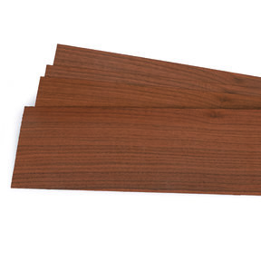 "Walnut Veneer 1/16"" Thick 3 sq ft pack"