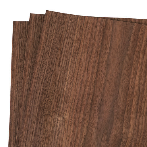 "View a Larger Image of Walnut 12"" x 12"" 3 pc Pack Wood Veneer"