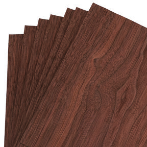 "Walnut Veneer 8"" x 8"" 7-piece"